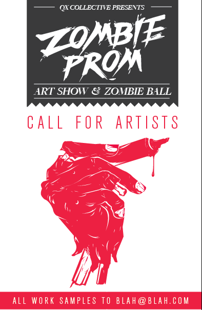 ZOMBIE PROM 2013 Call for Artists